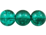 Crashperle aus Glas 4mm Emerald