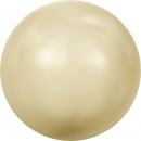 Swarovskiperle Light Gold Pearl 6mm 100 St.