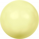 Swarovskiperle Pastel Yellow Pearl 6mm 100 St.