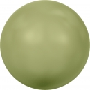 Swarovskiperle Lt. Green Pearl 6mm 100 St.
