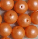 Glaswachsperle 3mm Alabaster Pastel Orange 1200 St