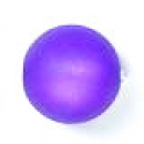 Polarisperle rund 6mm matt purple-velvet