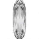 Swarovskistein Oval, lang 21 x 7 mm Crystal unfoiled