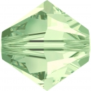 Swarovskiperle 3mm bic Chrysolite 48 St.