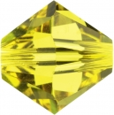 Swarovskiperle 3mm bic Citrine 48 St