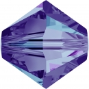 Swarovskiperle 3mm bic Cry Heliotrope 36St