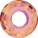 Swarovski Disk 38mm Crystal Astral Pink