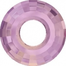 Swarovski Disk 38mm Crystal Lilac Shadow